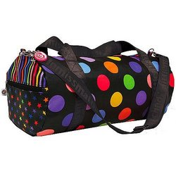 Black Zany Duffle Bag