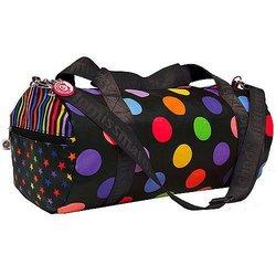 Black Zany Duffle Bag