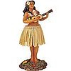 Hula Girl Dashboard Shaker