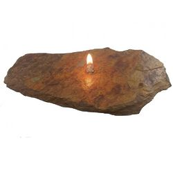 Single Wick Medium Fire Rock Oil Candle
