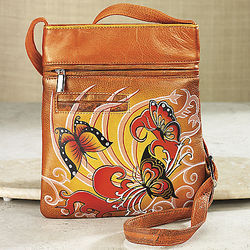 Hand-Painted Side Bag