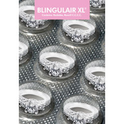 Blingulair XL Engagement Greeting Card
