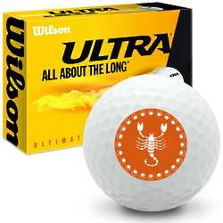 Zodiac Scorpio Ultra Ultimate Distance Golf Ball