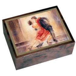 Wooden Italian Tango Music Box