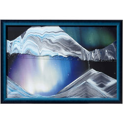 Aurora Borealis Sand Art Picture