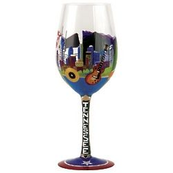 Tennessee Wine Glass