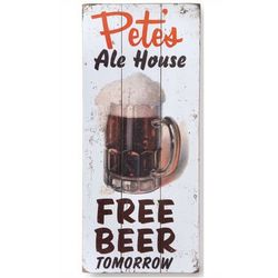Personalized Beer Mug Sign