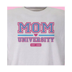 Mom University Personalized T-Shirt