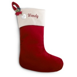 Personalized Red Stocking