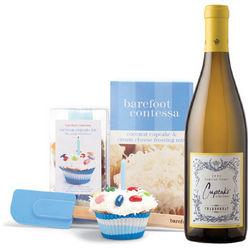 Barefoot Contessa Cupcakes & Wine Gift Set
