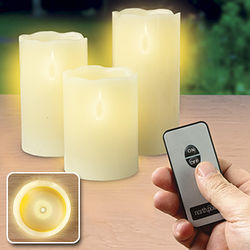 Remote Control LED Pillar Candles