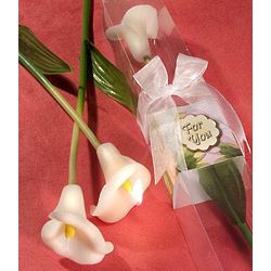Long Stemmed Cala Lily Candle