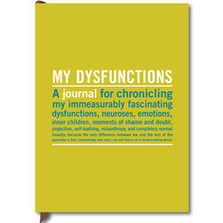 My Dysfunctions Guided Journal