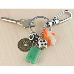 Flow of Abundance Key Chain
