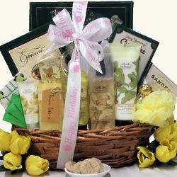 Vanilla Orchid Spa Luxuries Birthday Bath & Body Gift Basket