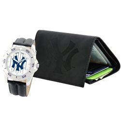 New York Yankees Watch and Wallet