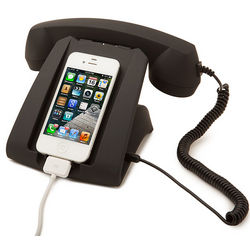 Talk Dock Telephone Receiver for Cell Phone