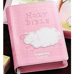 Personalized Lamb Bible