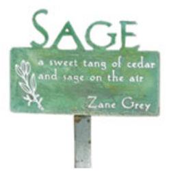 Sage Garden Stake