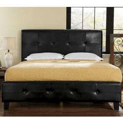 Tufted King Platform Bed King