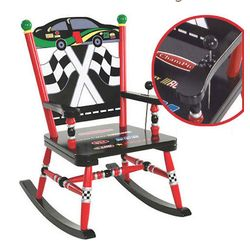 Race Car Musical Rocking Chair