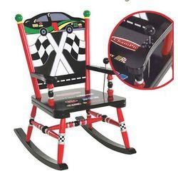 Race Car Musical Rocking Chair