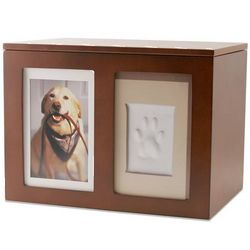 Personalized Pet Paw Print Memory Box