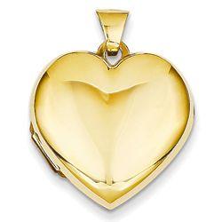 14 Karat Gold Heart Locket