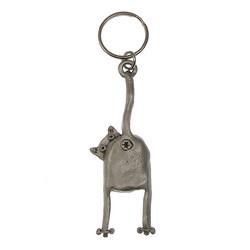 True Cat Lover's Key Ring