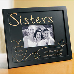 personalized sisterfriend photo frame