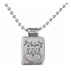 Follow Your Heart Pendant Necklace