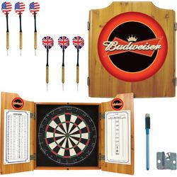 Budweiser Bowtie Logo Dart Cabinet