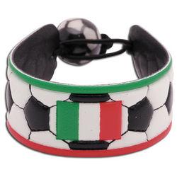 Italy Flag Soccer Bracelet