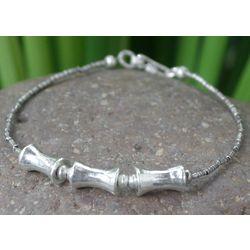 Sisters Silver Charm Bracelet