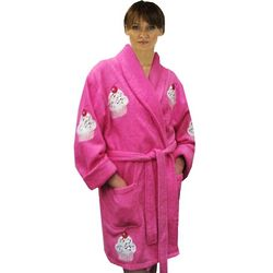 Sprinkles Cupcake Cotton Terry Bathrobe