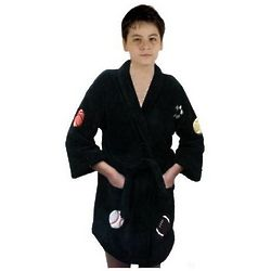 Boy's Sports Bathrobe