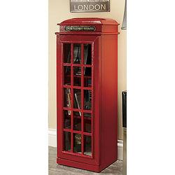 British Telephone Box Cabinet