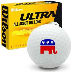 Republican Elephant Golf Balls
