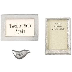 Wishnest Twenty-Nine Again Birthday Wishbox