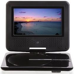 Portable Multiformat DVD Player