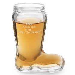 Boot Shot Glass