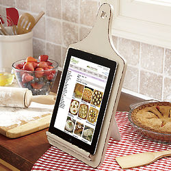 Cutting Board Tablet Holder