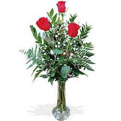 Thinking of You 3 Rose Bud Vase