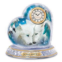 Soulmates Crystal Clock