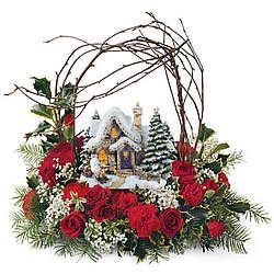 Thomas Kinkade Wonderland Express Christmas Tree