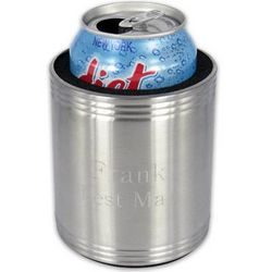 Personalized Stainless Steel Can Koozie