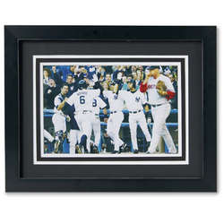 MLB Personalized Action Print