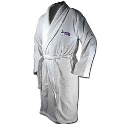 Atlanta Braves Terrycloth Logo Bathrobe