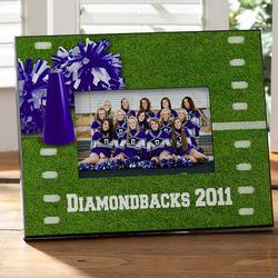 Cheer! Personalized Football Frame