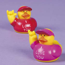 I Love You Rubber Duckies